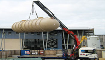 Septic Tank Transport and Installation